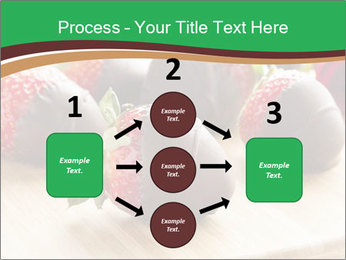 Gourmet Chocolate Covered Strawberries PowerPoint Template - Slide 92