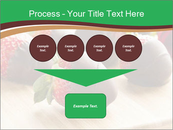 Gourmet Chocolate Covered Strawberries PowerPoint Template - Slide 93