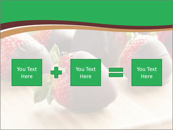 Gourmet Chocolate Covered Strawberries PowerPoint Templates - Slide 95