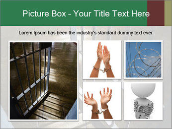 Metal bar door PowerPoint Templates - Slide 19