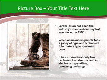 American West rodeo pair PowerPoint Templates - Slide 13