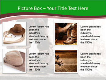 American West rodeo pair PowerPoint Templates - Slide 14