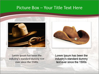 American West rodeo pair PowerPoint Templates - Slide 18