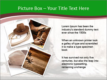 American West rodeo pair PowerPoint Templates - Slide 23
