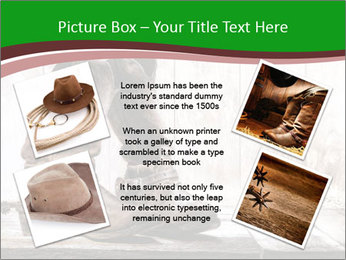 American West rodeo pair PowerPoint Templates - Slide 24