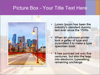 Downtown Minneapolis PowerPoint Template - Slide 13