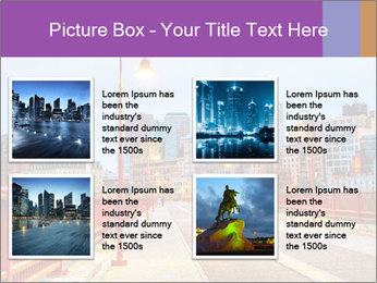 Downtown Minneapolis PowerPoint Template - Slide 14