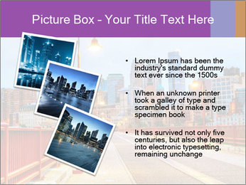 Downtown Minneapolis PowerPoint Template - Slide 17
