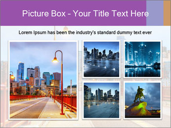 Downtown Minneapolis PowerPoint Template - Slide 19
