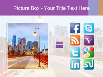 Downtown Minneapolis PowerPoint Template - Slide 21