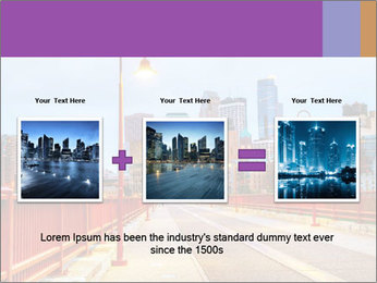 Downtown Minneapolis PowerPoint Template - Slide 22