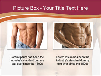 Naked muscular man PowerPoint Template - Slide 18
