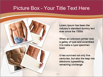 Naked muscular man PowerPoint Templates - Slide 23