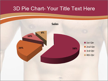 Naked muscular man PowerPoint Template - Slide 35
