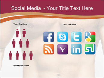 Naked muscular man PowerPoint Template - Slide 5