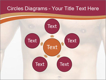 Naked muscular man PowerPoint Template - Slide 78