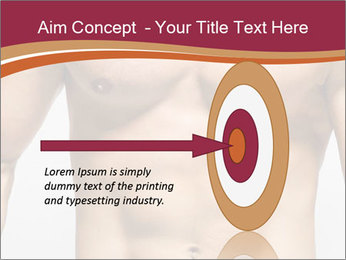 Naked muscular man PowerPoint Template - Slide 83