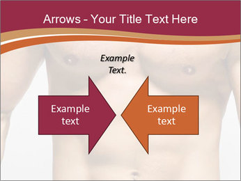Naked muscular man PowerPoint Template - Slide 90