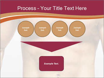 Naked muscular man PowerPoint Template - Slide 93