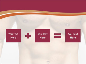 Naked muscular man PowerPoint Templates - Slide 95