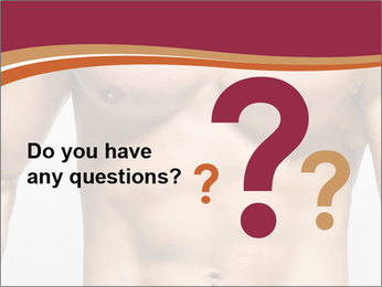 Naked muscular man PowerPoint Template - Slide 96