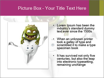 Funny tooth PowerPoint Template - Slide 13