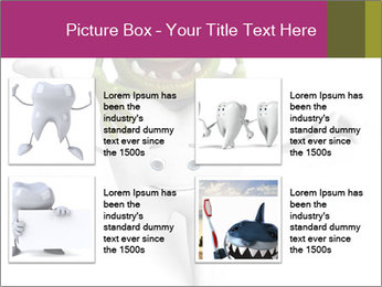 Funny tooth PowerPoint Template - Slide 14