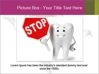 Funny tooth PowerPoint Template - Slide 15