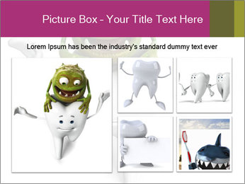 Funny tooth PowerPoint Template - Slide 19
