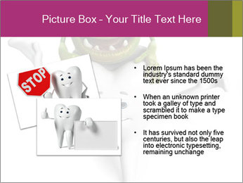 Funny tooth PowerPoint Template - Slide 20