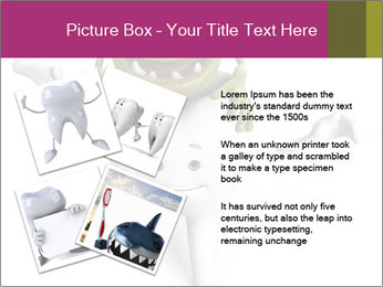 Funny tooth PowerPoint Template - Slide 23