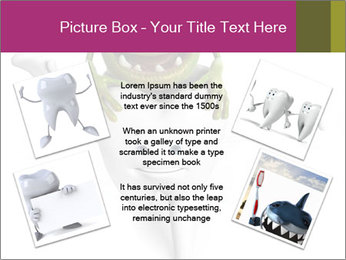 Funny tooth PowerPoint Template - Slide 24