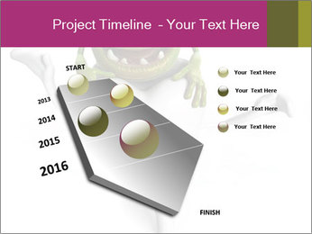 Funny tooth PowerPoint Template - Slide 26