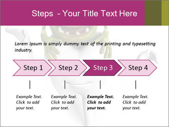 Funny tooth PowerPoint Template - Slide 4