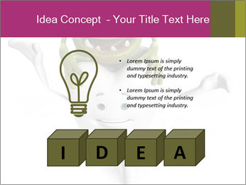 Funny tooth PowerPoint Template - Slide 80