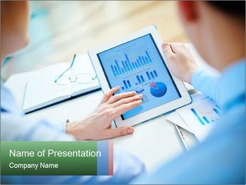 Business partners PowerPoint Template - Slide 1