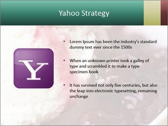 Scoop of homemade vanilla ice cream PowerPoint Templates - Slide 11