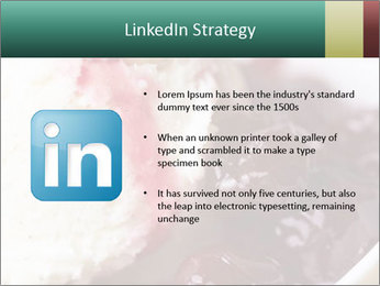 Scoop of homemade vanilla ice cream PowerPoint Template - Slide 12