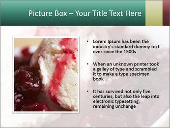 Scoop of homemade vanilla ice cream PowerPoint Templates - Slide 13