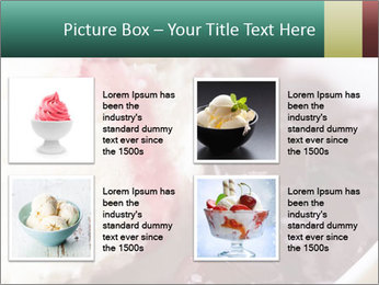 Scoop of homemade vanilla ice cream PowerPoint Templates - Slide 14