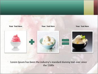 Scoop of homemade vanilla ice cream PowerPoint Templates - Slide 22