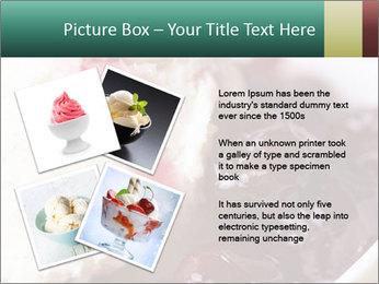 Scoop of homemade vanilla ice cream PowerPoint Templates - Slide 23