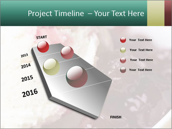 Scoop of homemade vanilla ice cream PowerPoint Templates - Slide 26