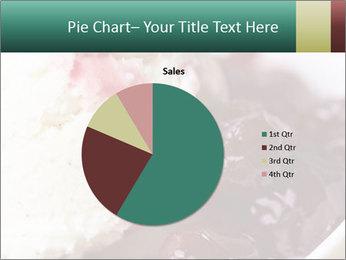 Scoop of homemade vanilla ice cream PowerPoint Templates - Slide 36