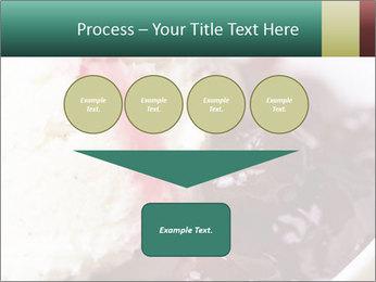 Scoop of homemade vanilla ice cream PowerPoint Template - Slide 93