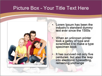 Portrait of the happy family PowerPoint Templates - Slide 13