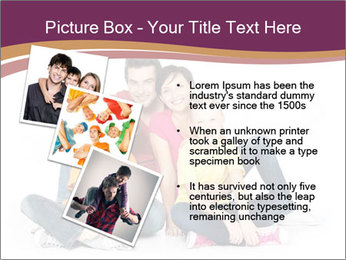 Portrait of the happy family PowerPoint Templates - Slide 17