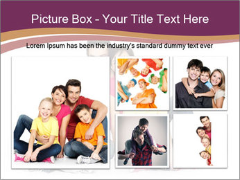 Portrait of the happy family PowerPoint Templates - Slide 19