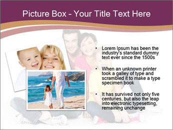 Portrait of the happy family PowerPoint Templates - Slide 20