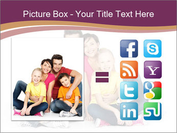 Portrait of the happy family PowerPoint Templates - Slide 21